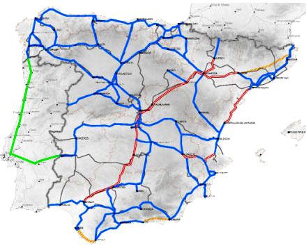 mapa comboios europa De: António Alves