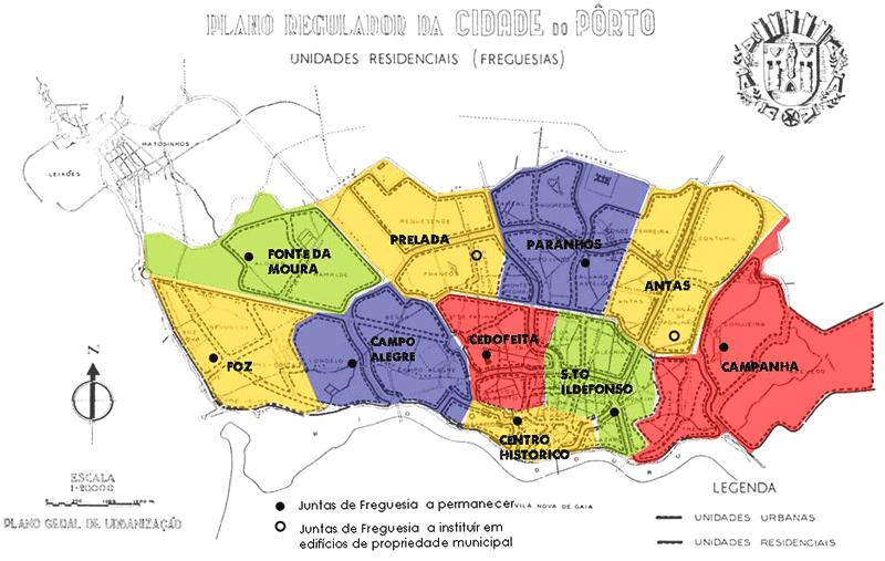 mapa porto freguesias De: Lurdes Lemos